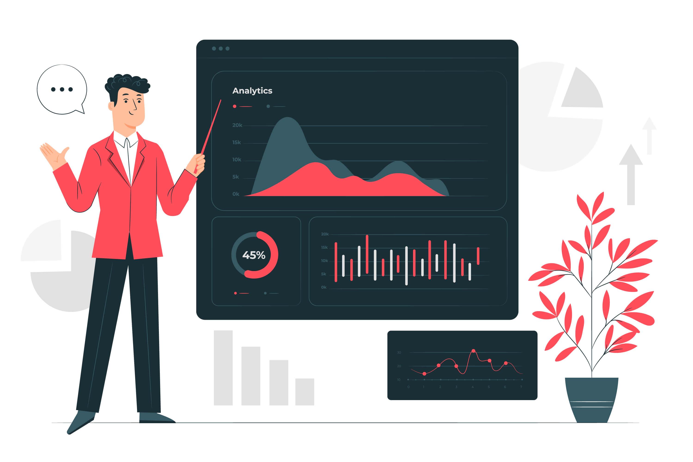 How to use Andrew's Pitchfork Indicator on Binarium