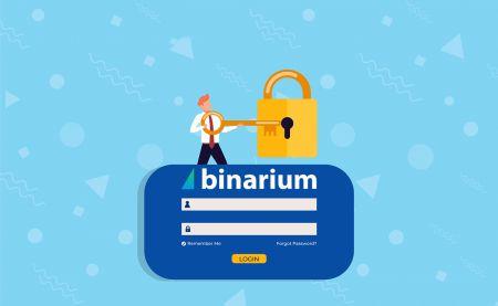 Cách đăng nhập vào Binarium