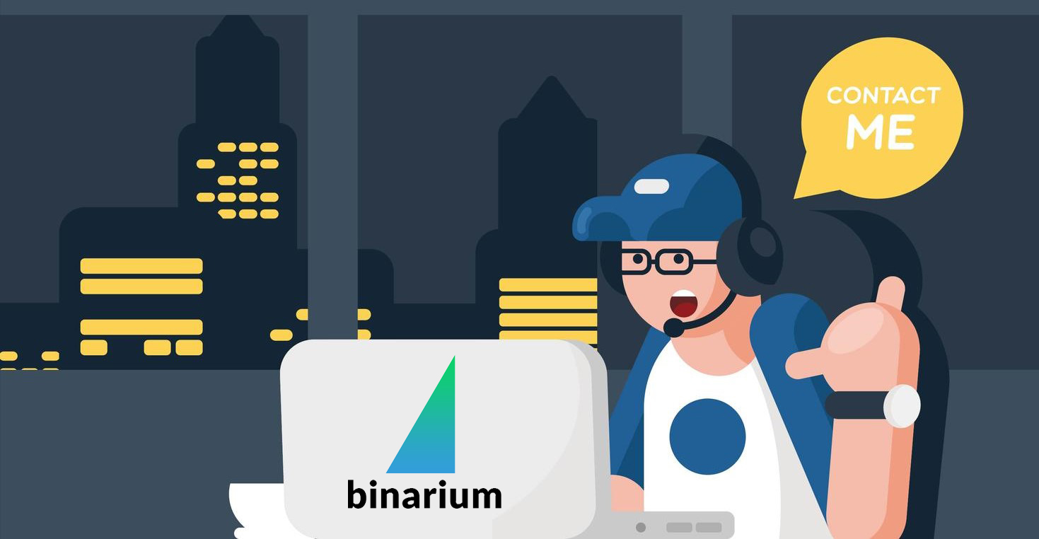 So kontaktieren Sie den Binarium-Support