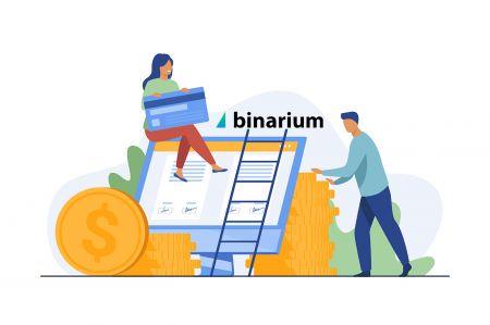 Cách đăng ký và gửi tiền tại Binarium