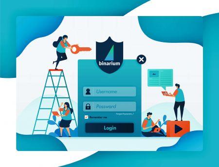 Cách đăng ký và đăng nhập tài khoản tại Binarium