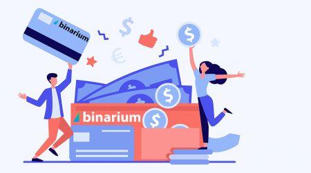 Binariumで口座を開設してお金を引き出す方法