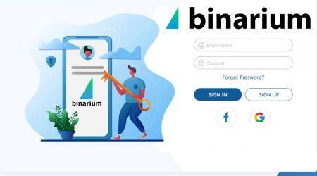 Cách đăng ký tài khoản tại Binarium
