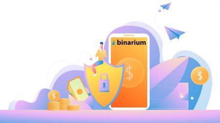 Cách mở tài khoản và gửi tiền tại Binarium