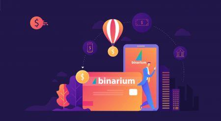 Cách đăng ký và rút tiền tại Binarium