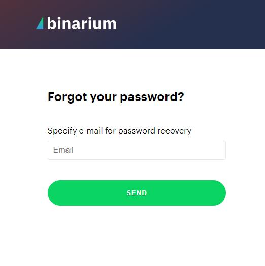 How to Login and start Trading Binary Options at Binarium