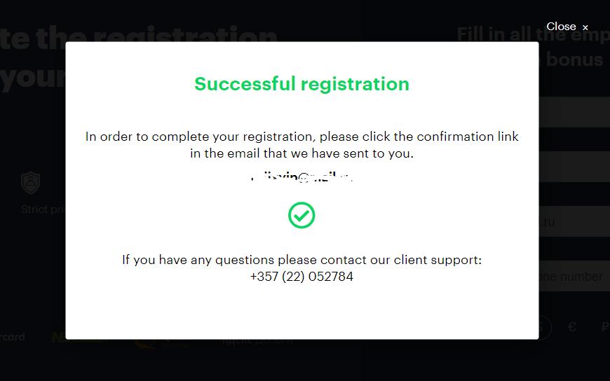 Cách đăng ký và xác minh tài khoản tại Binarium